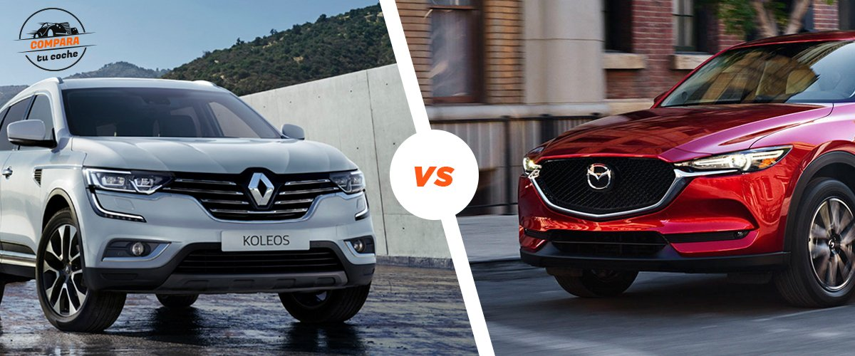 Blog: Renault Koleos Vs Mazda Cx-5