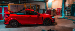 El Honda Civic Type R transformado en una pick-up