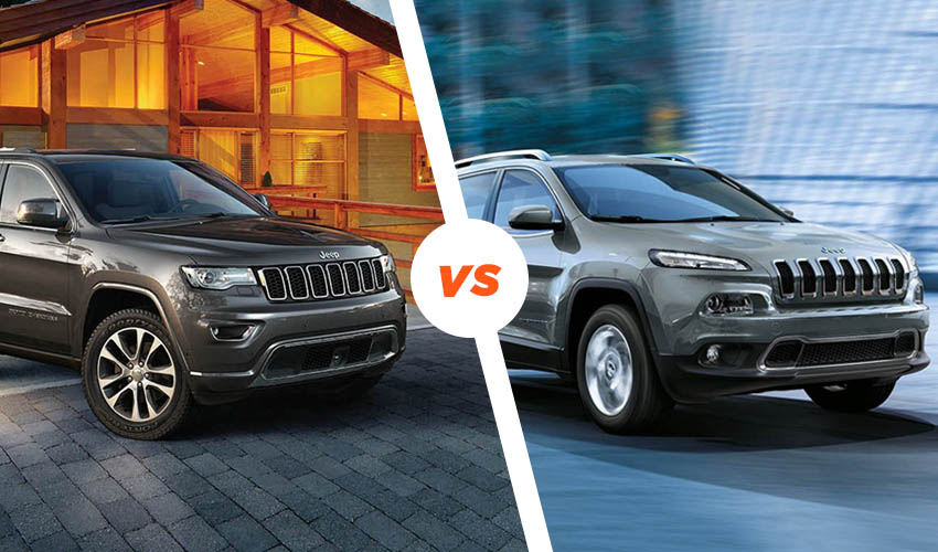 Jeep Cherokee vs Jeep Grand Cherokee