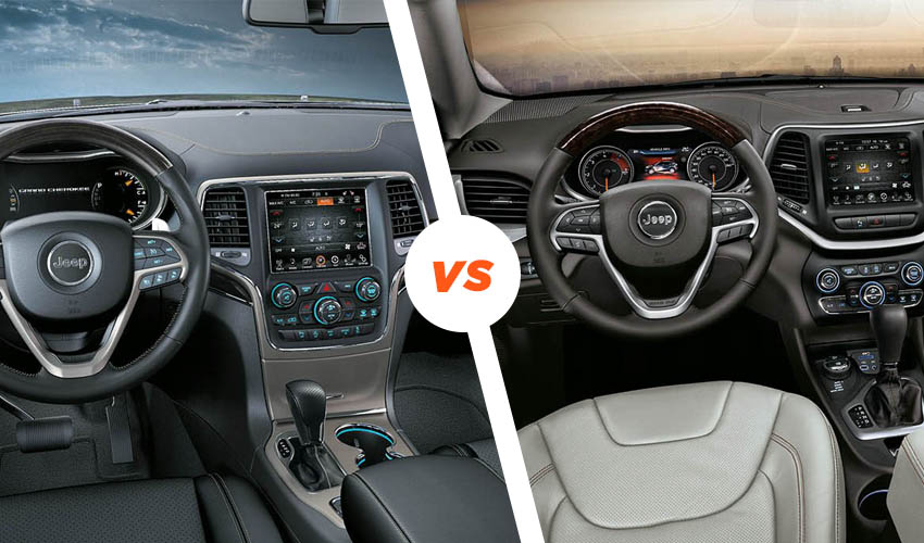 comparativa: Grand Cherokee vs ​​Cherokee