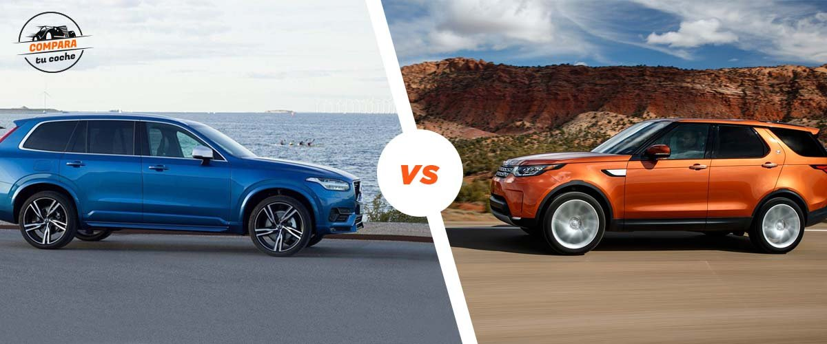 Blog: Land Rover Discovery Vs Volvo Xc90
