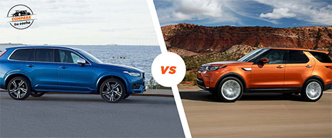 Land Rover Discovery vs Volvo XC90