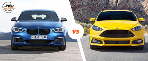 BMW Serie 1 vs Ford Focus