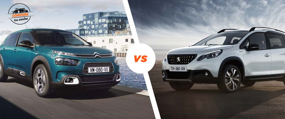Blog: Citro�n C4 Cactus Vs Peugeot 2008