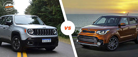 Kia Soul vs Jeep Renegade