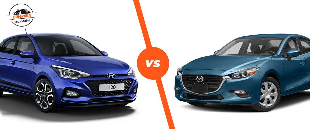 Blog: Hyundai I20 Vs Mazda 3