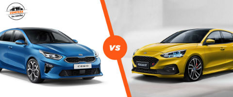 Comparativa: Ford focus vs Kia Ceed