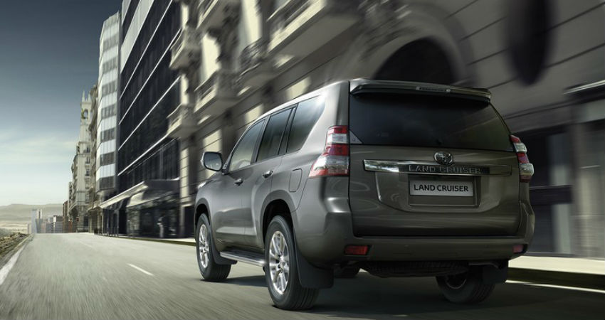 Toyota Land Cruiser - Comparatucoche