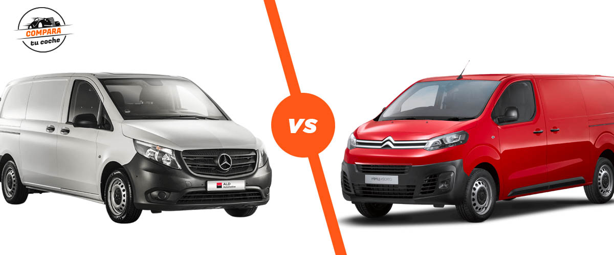 Blog |  Citroen Jumpy Vs Mercedes Vito