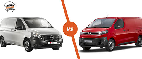Citroen Jumpy vs Mercedes Vito