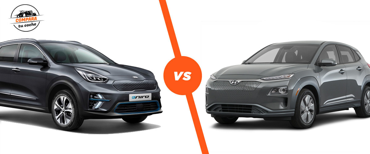 Kia e-Niro vs Hyundai Kona Electric