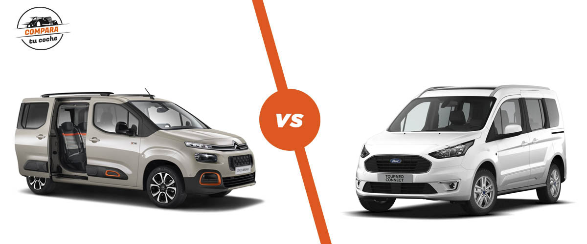 Blog: Citro�n Berlingo Multispace Vs Ford Tourneo Connect