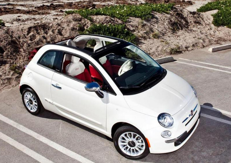fiat 500 cabrio compara tu coche. Black Bedroom Furniture Sets. Home Design Ideas